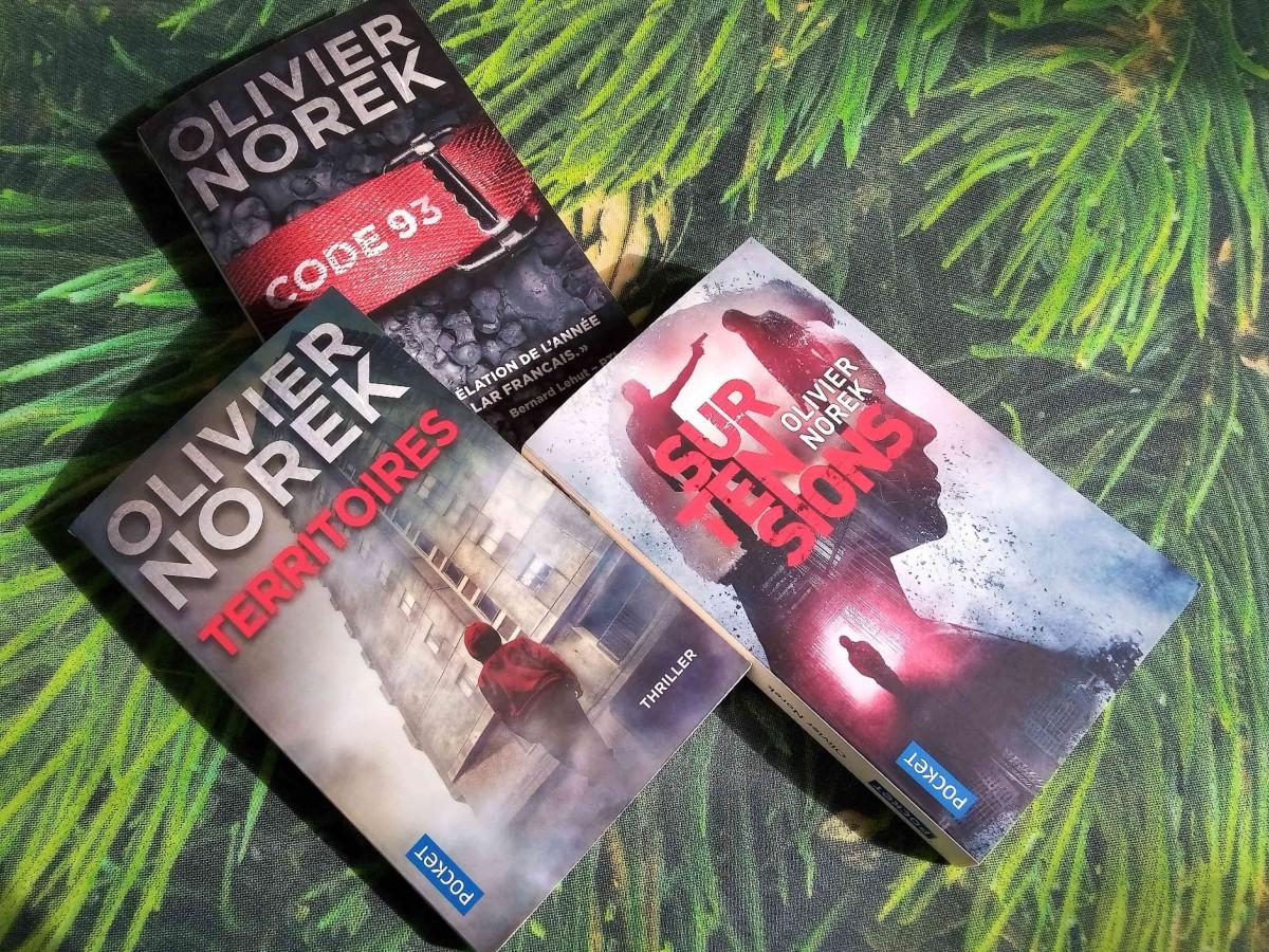 Trilogie Victor Coste de Oliver Norek
