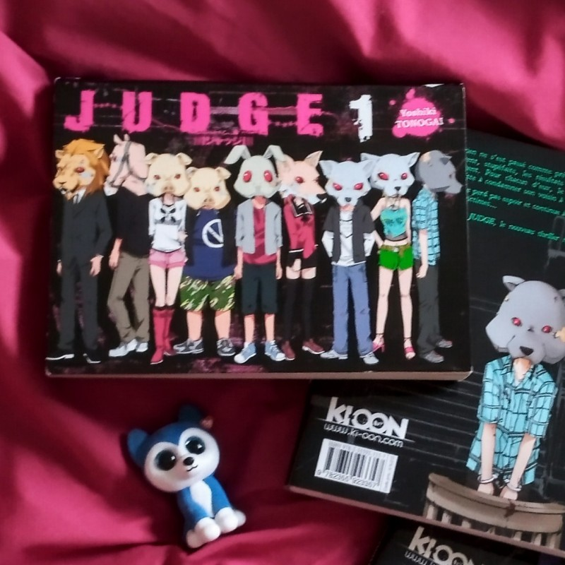 Judge - tome 1 - Yoshiki Tonogai
