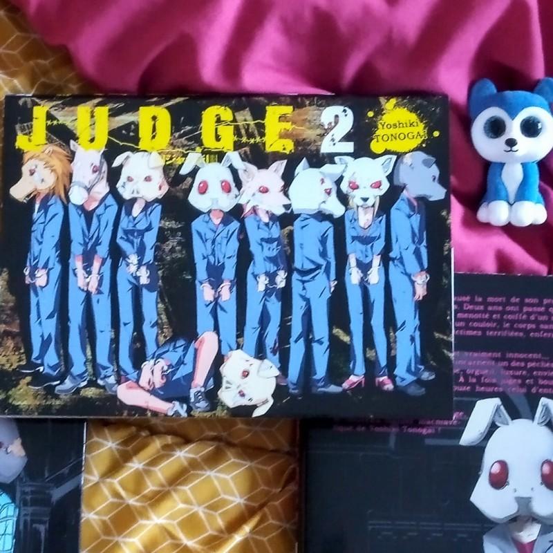 Judge - tome 2 - Yoshiki Tonogai